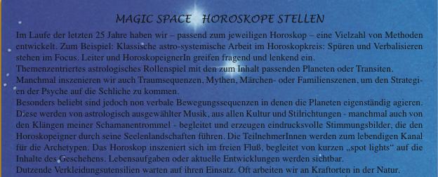 Horoskope stellen